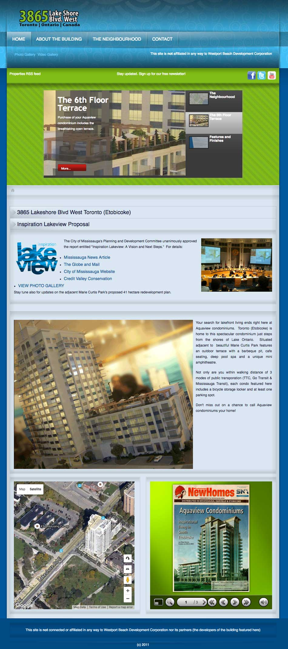 3865Lakeshore WebPage Sample