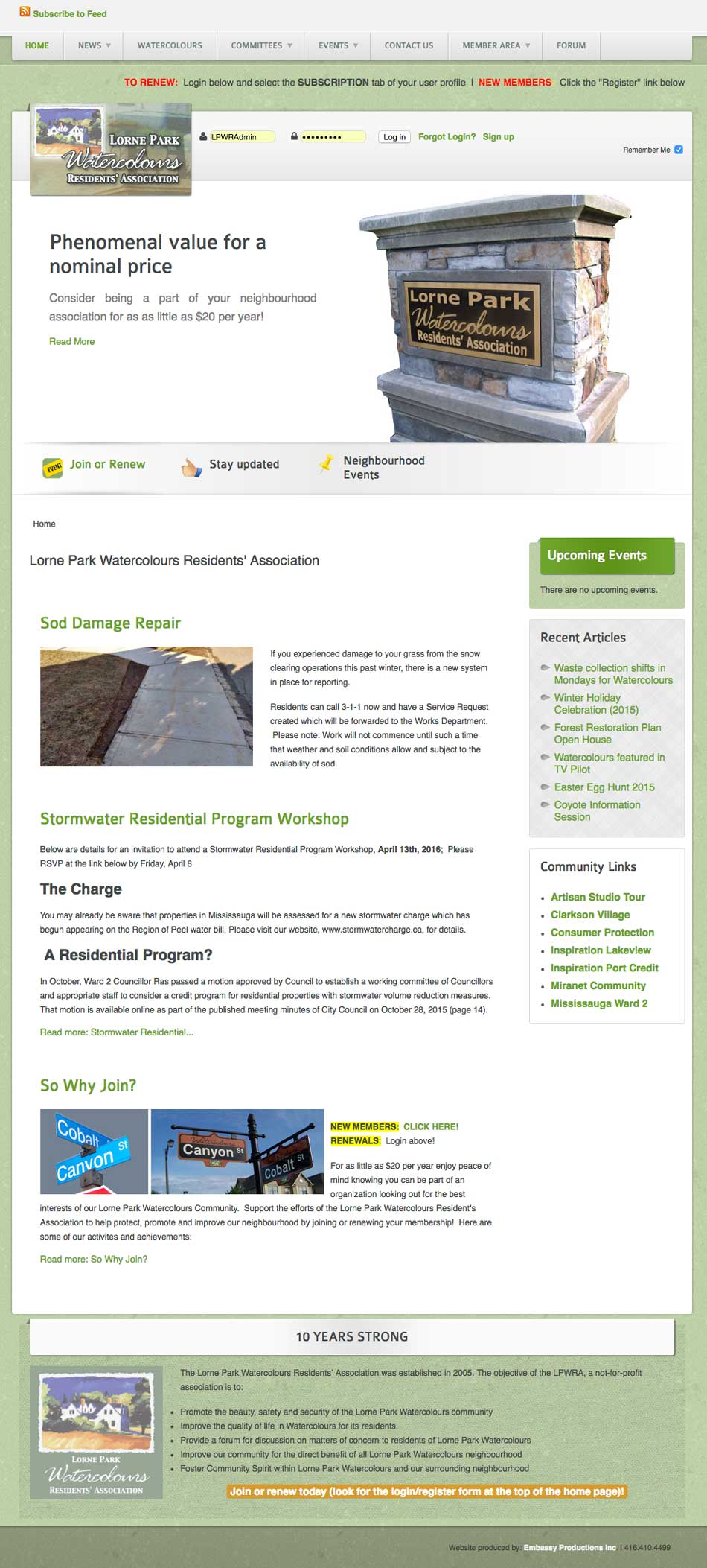 LPWRA WebPage Sample1